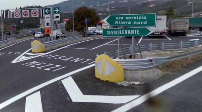 autostrada (area servizio Sestri Levante)