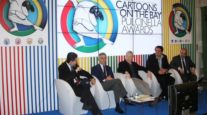 conferenza finale cartoons on the bay