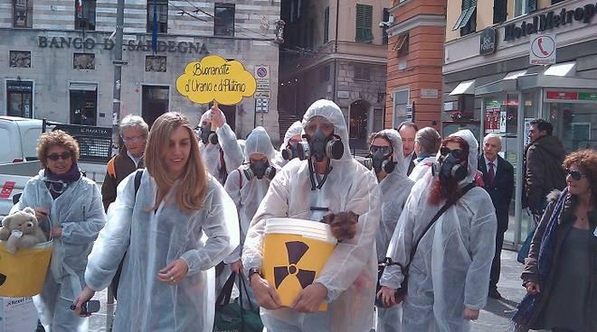 flash mob vota sì per fermare il nucleare