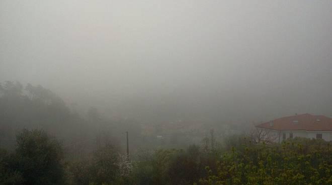 giustenice nebbia