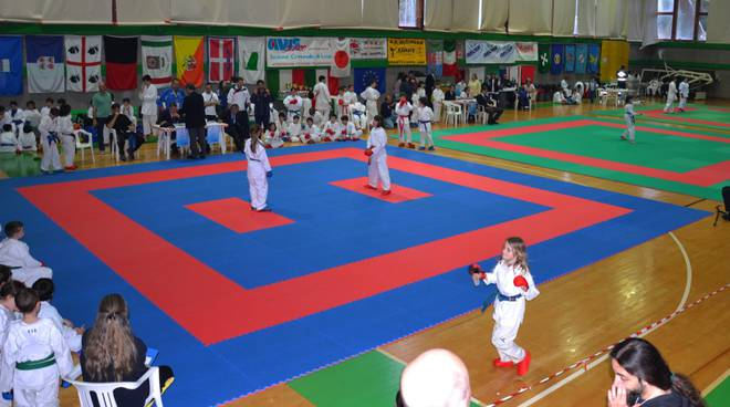 trofeo loano karate