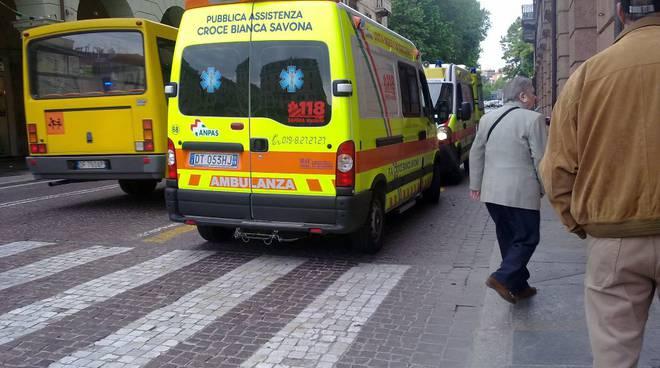 ambulanza savona