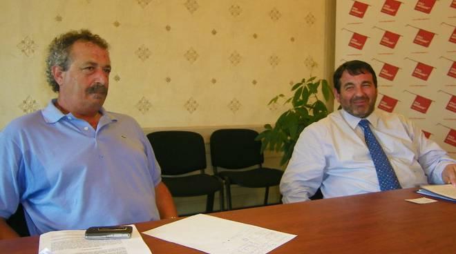 Antonio Marzo e Enrico Vesco