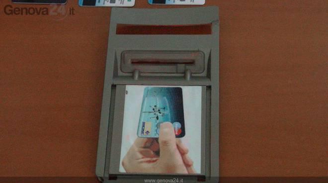 Bancomat contraffatti