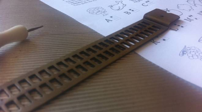 biblioteca Pietra braille