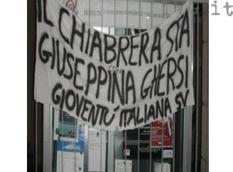 concorso Ghersi, protesta Gioventù italiana