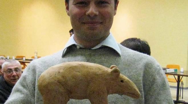 diego gambaretto con tapiro
