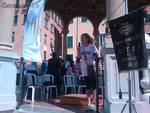 elisabetta lai, ciclopedalata a Rapallo