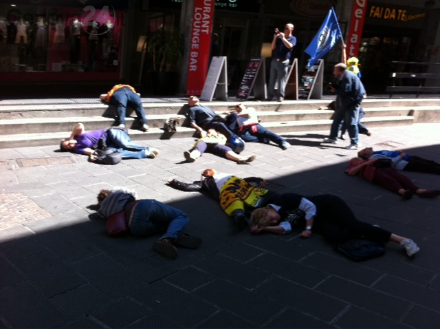 Flash mob antinucleare