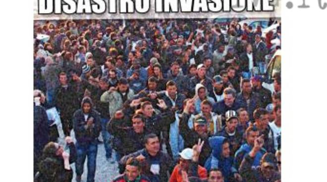 forza nuova - profughi