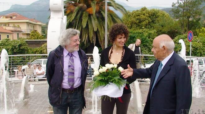 Inaugurazione fontana Nettuno loano