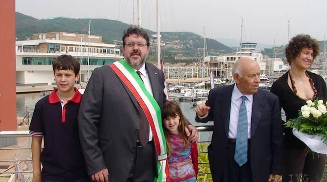 Loano - taglio nastro porto Vaccarezza ligresti