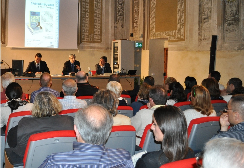 Mario Giordano ad Albenga
