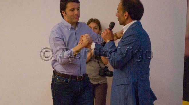 Matteo Renzi a Savona per Berruti
