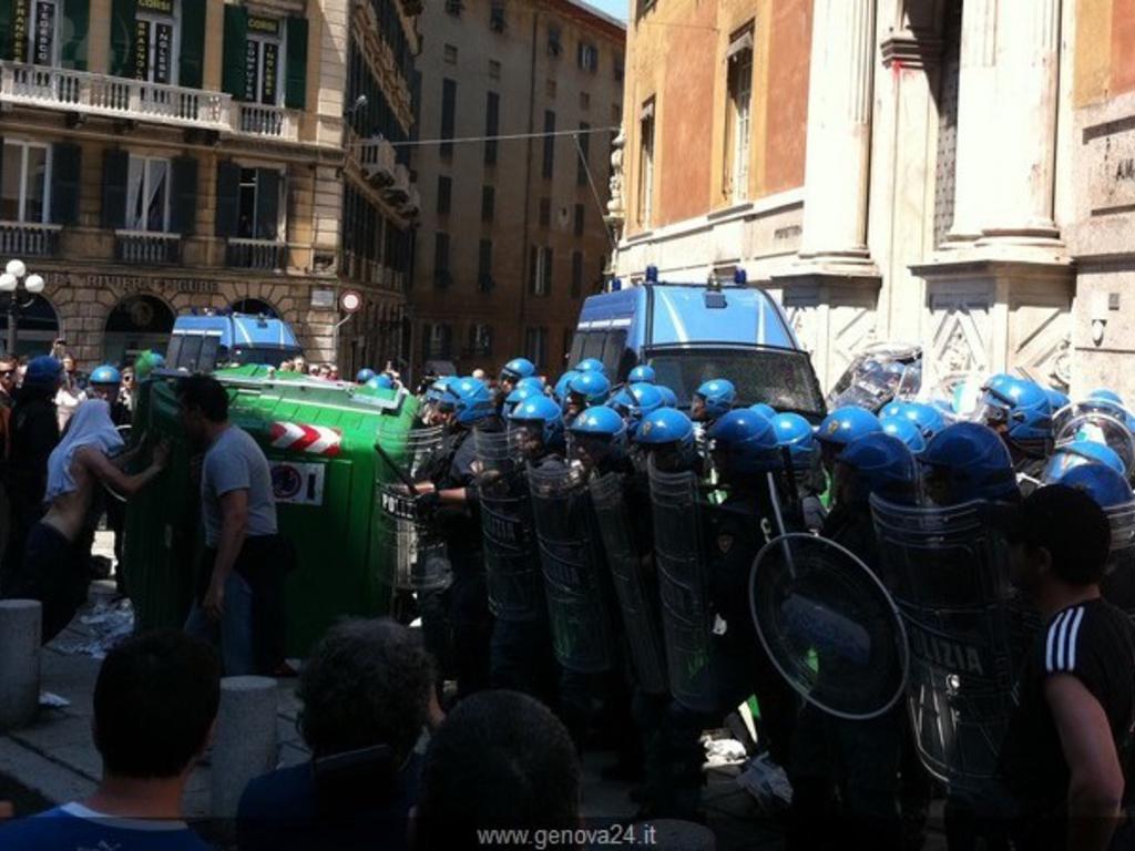 protesta fincantieri 24 maggio