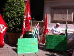 protesta lavoratori appalto iren