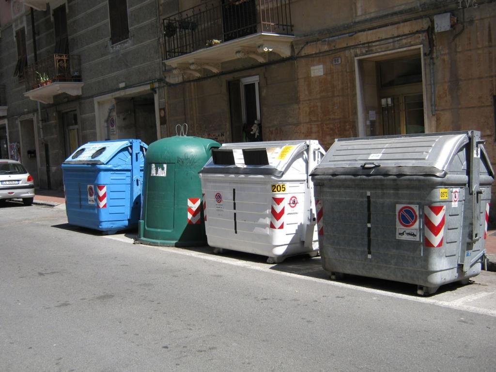 raccolta differenziata, rifiuti
