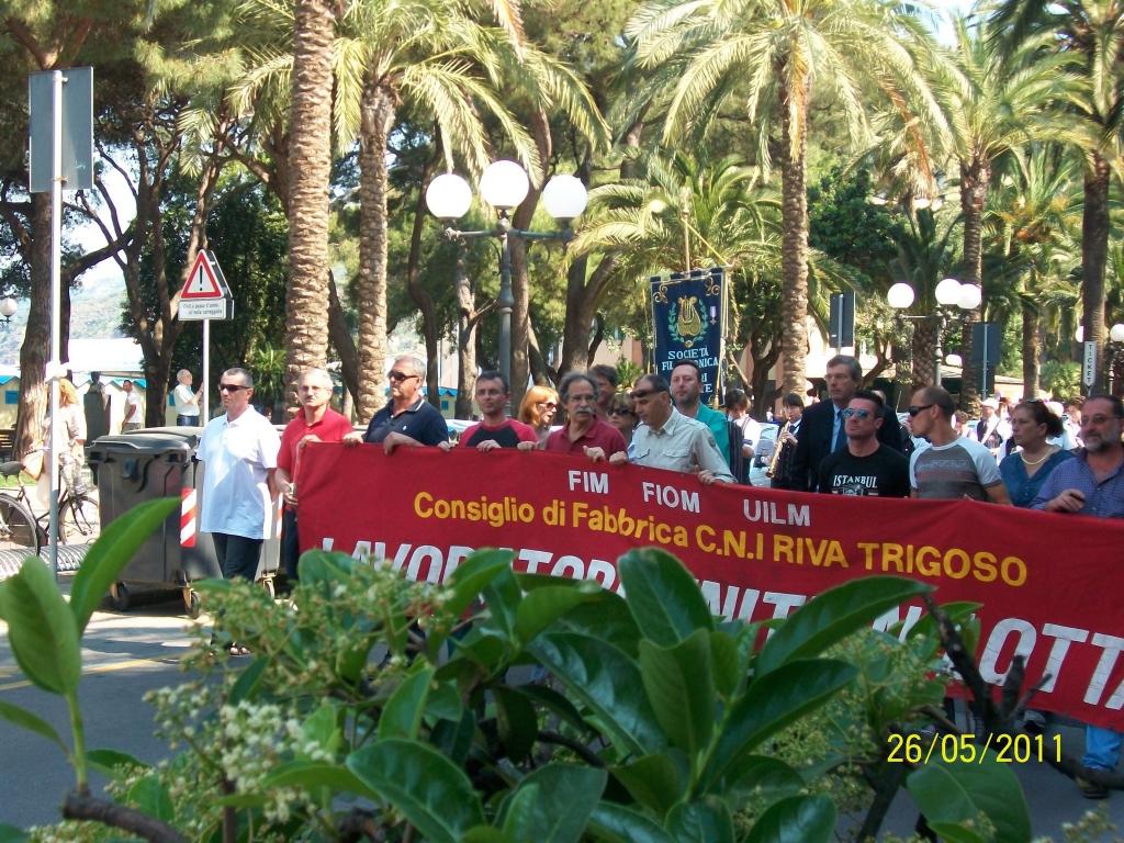 Riva Trigoso - rsu fincantieri premio andersen