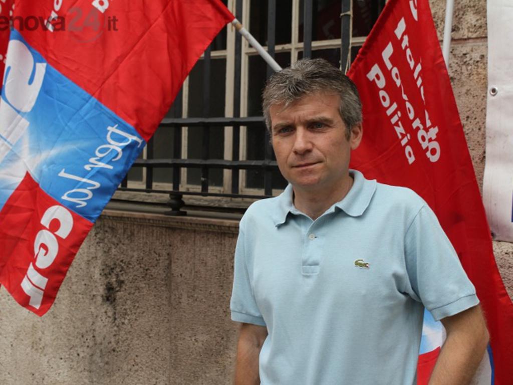 Roberto Traverso, segretario Silp Cgil