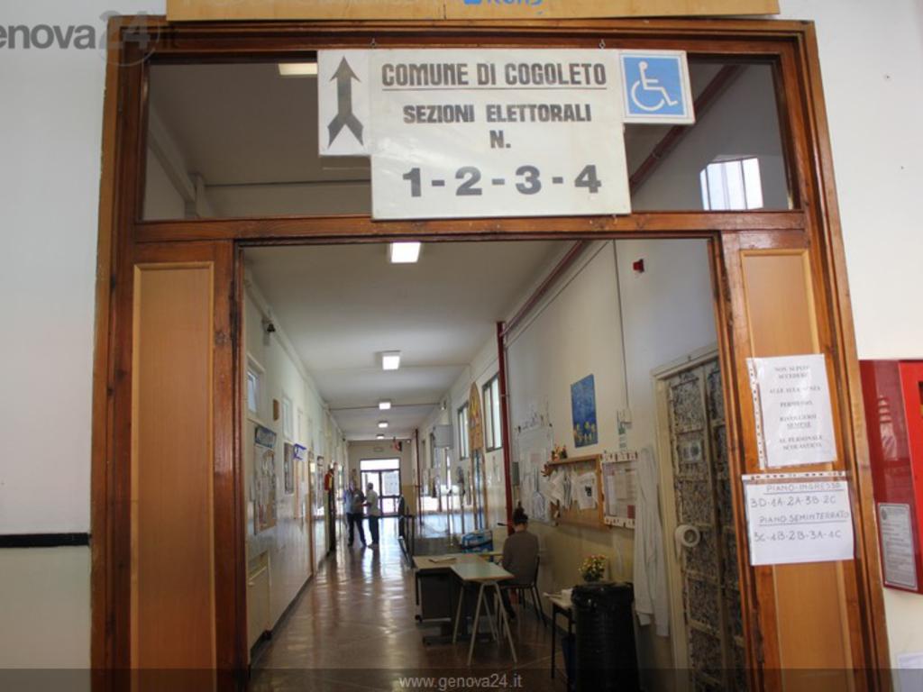 Seggio elettorale Cogoleto