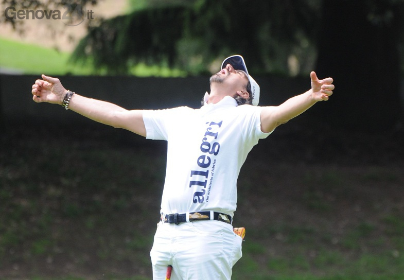 valerio staffelli al torneo golf vinca la vita
