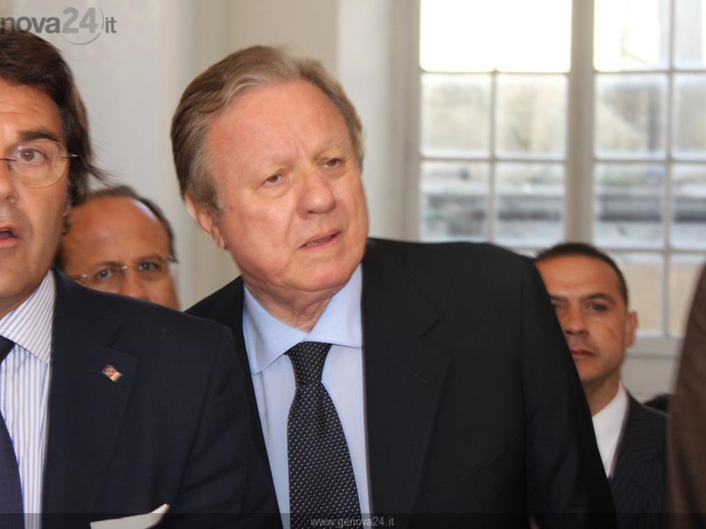 Altero Matteoli, Eugenio Minasso
