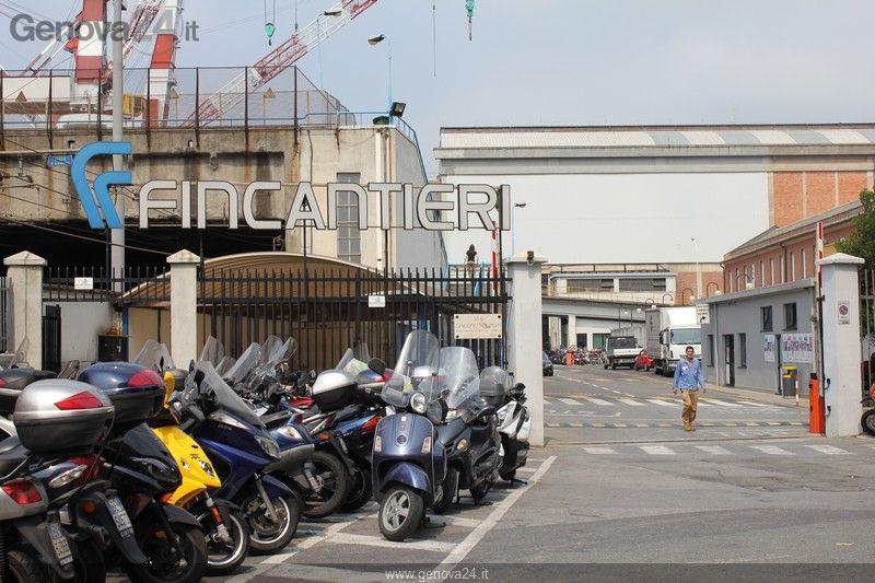 Blocco Fincantieri 29 giugno