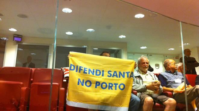 comitato contro porto santa in regione