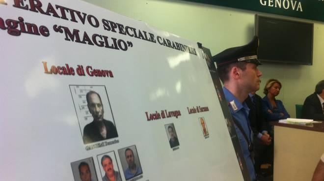 """genova: operazione antimafia """"Maglio"""""""
