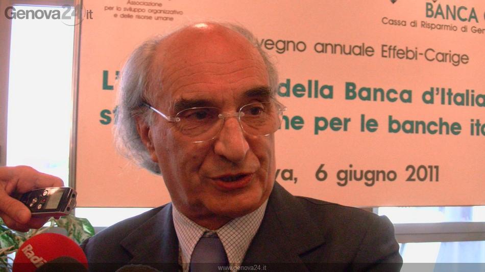 Giovanni Alberto Berneschi Presidente Banca Carige