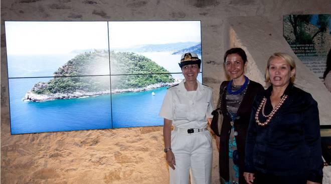 inaugurazione fortino e museo mare albenga