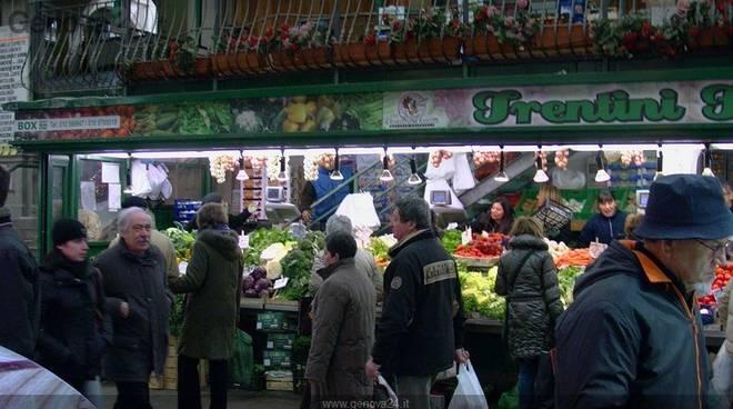 mercato, frutta e verdura