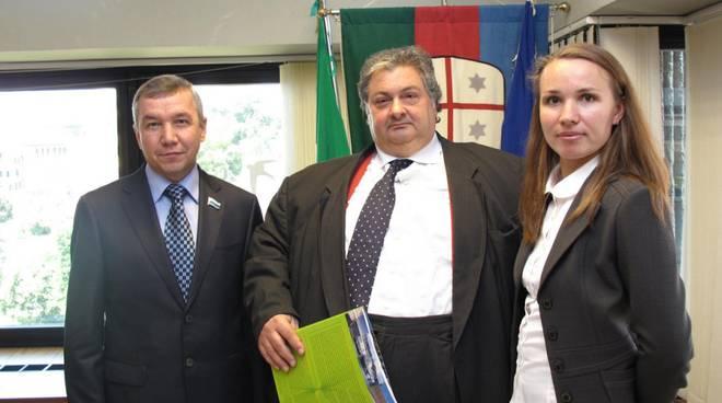 monteleone_e_delegazione_russa