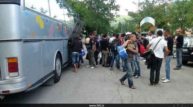 Osiglia arrivo profughi