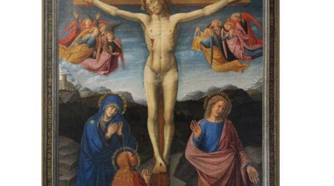 Pinacoteca, Crocifissione di Savona