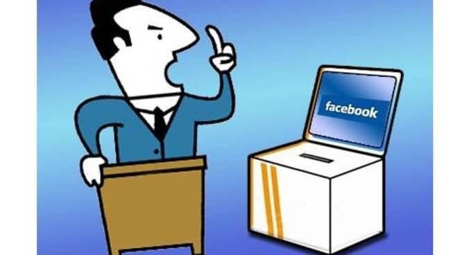 politici e sindaci su facebook