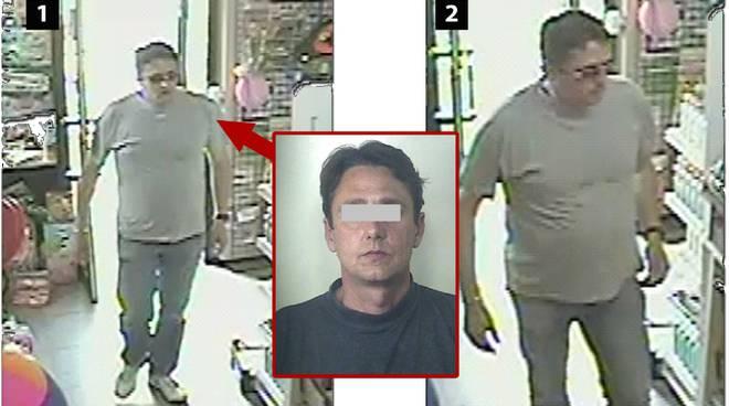 Rapine a Pietra e Borghetto, fermato 45enne albenganese: tradito dalle immagini delle telecamere