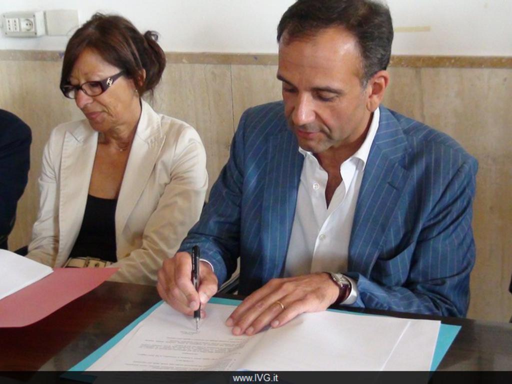 Savona - Federico Berruti firma