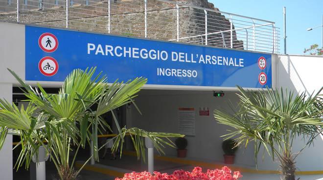 Savona, parcheggio Arsenale