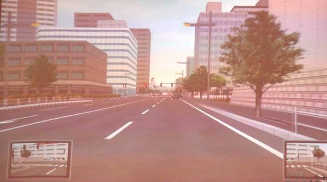 Sicurezza stradale simulatore