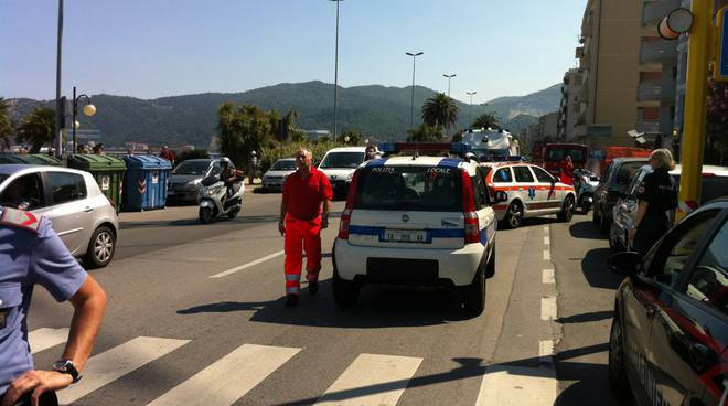 vado ligure incidente