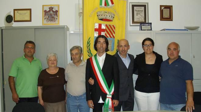 Valerio Scola, sindaco di Castelbianco