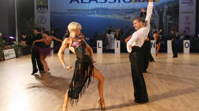 alassio: danza sportiva internazionale