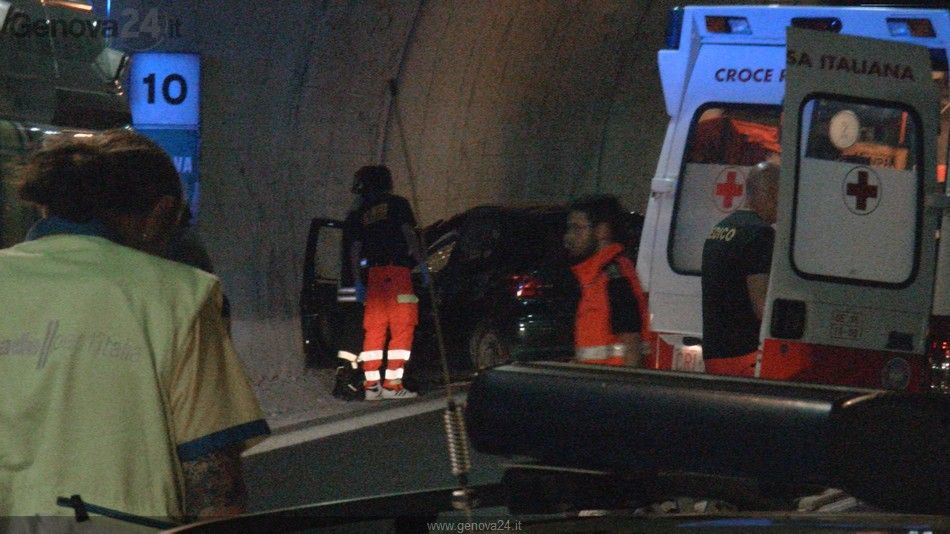 Autostrada - incidente genova est