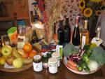 cibo, paniere, biologico