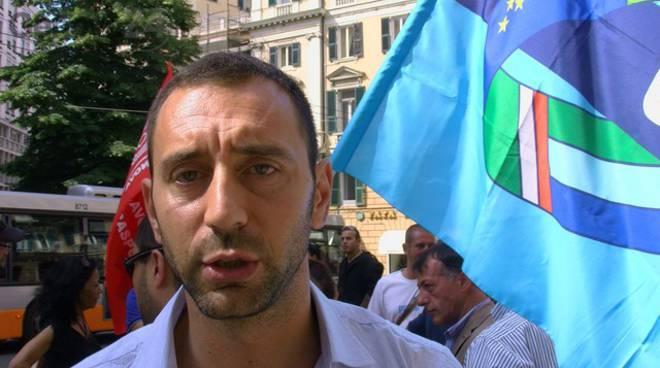 Corrado Bruzzone, responsabile regionale degli appalti ferroviari per Filt CGIL