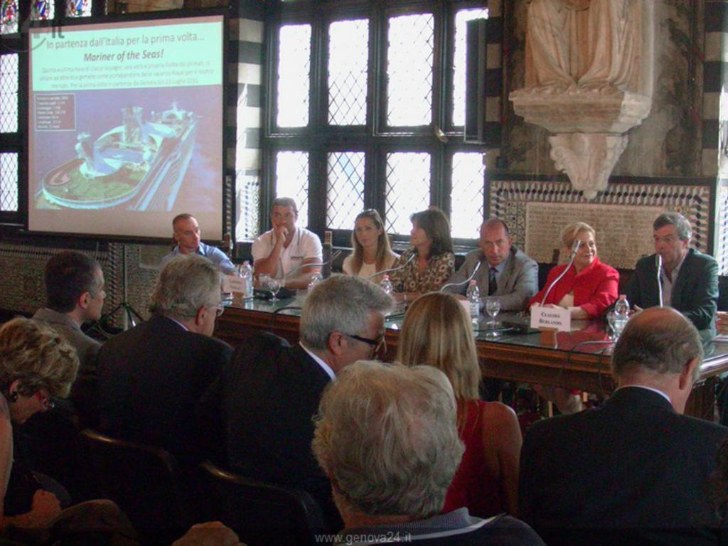 Genova - conferenza royal caribbean