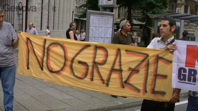 manifestazione contro terzo valico