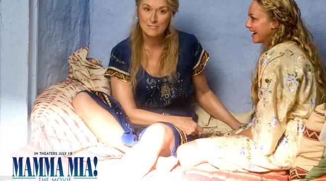 """Maryl Streep """"Mamma mia"""""""
