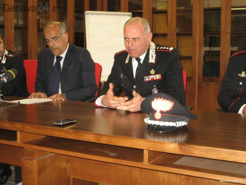 procuratore cozzi e azzaro comandante carabinieri